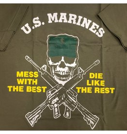 ROTHCO MARINE MESS WITH THE BEST T-SHIRT-OLIVE