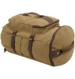 "ROTHCO CONVERTIBLE 19"" CANVAS DUFFLE"
