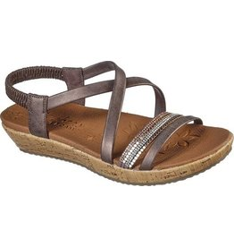 SKECHERS 32842 BRIE MIDNIGHT SHINE WOMEN'S SANDALS, BRONZE