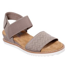 SKECHERS 31440 DESERT KISS WOMEN'S SANDALS, TAUPE