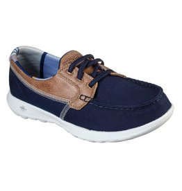 SKECHERS 136070 GO WALK LITE PLAYA VISTA WOMEN'S SHOES, NAVY