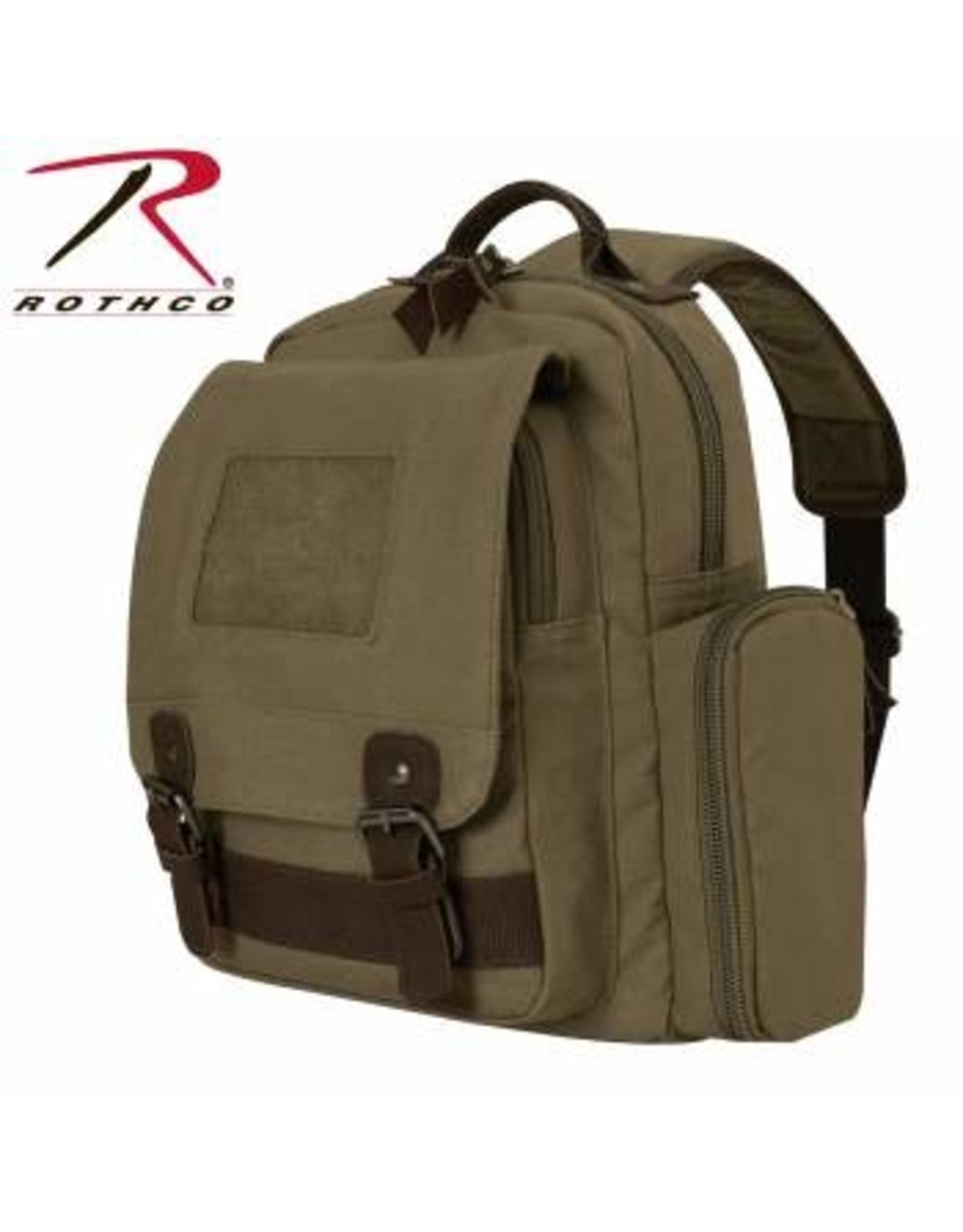ROTHCO VINTAGE CANVAS SLING BACKPACK