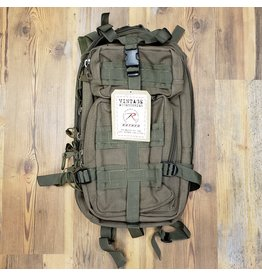 ROTHCO Rothco Tacticanvas Go Pack - Color : Olive Drab
