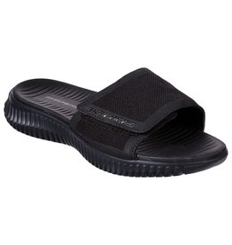 SKECHERS 51720 ELITE FLEX SHORE RIDGE MEN'S SANDALS, BLACK