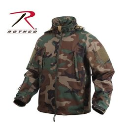 ROTHCO ROTHCO SPECIAL OPS TACTICAL SOFTSHELL JACKET - WOODLAND CAMO