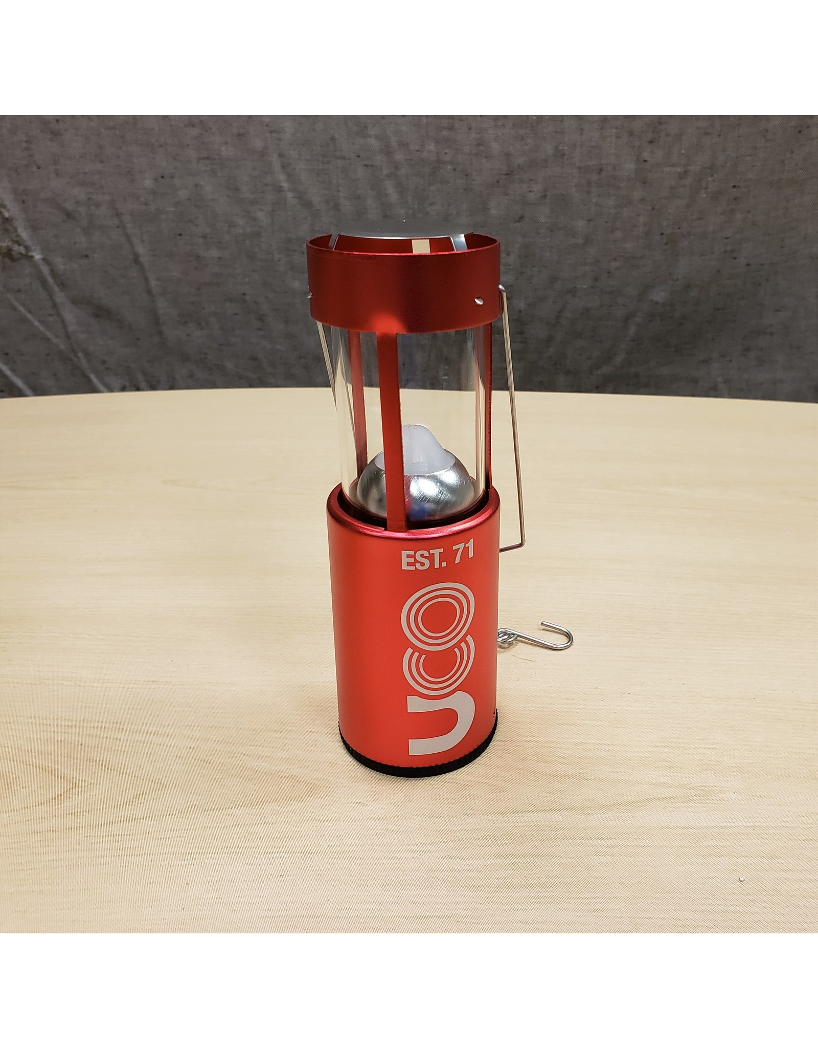 UCO CANDLE LANTERN-RED
