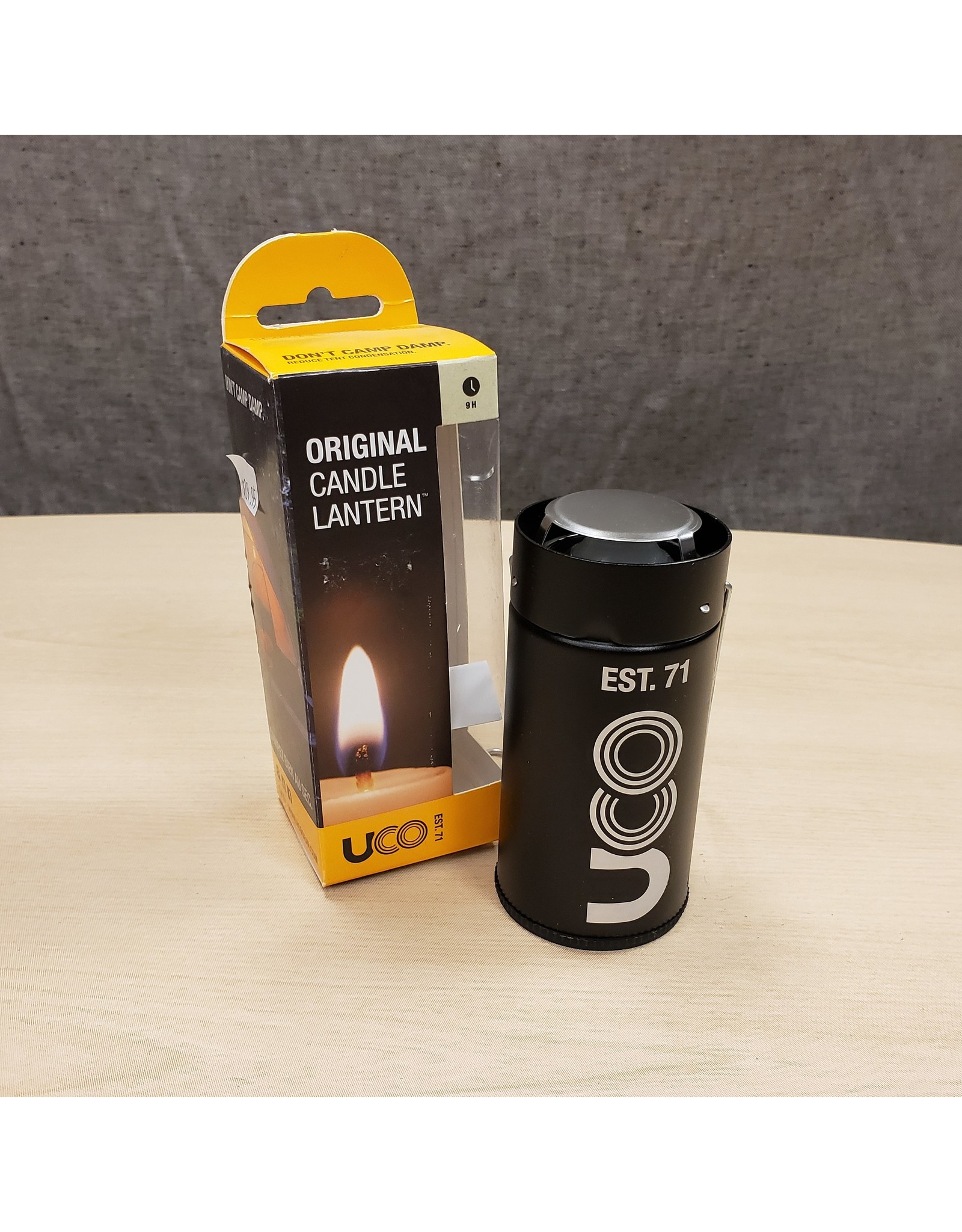 UCO CANDLE LANTERN-BLACK