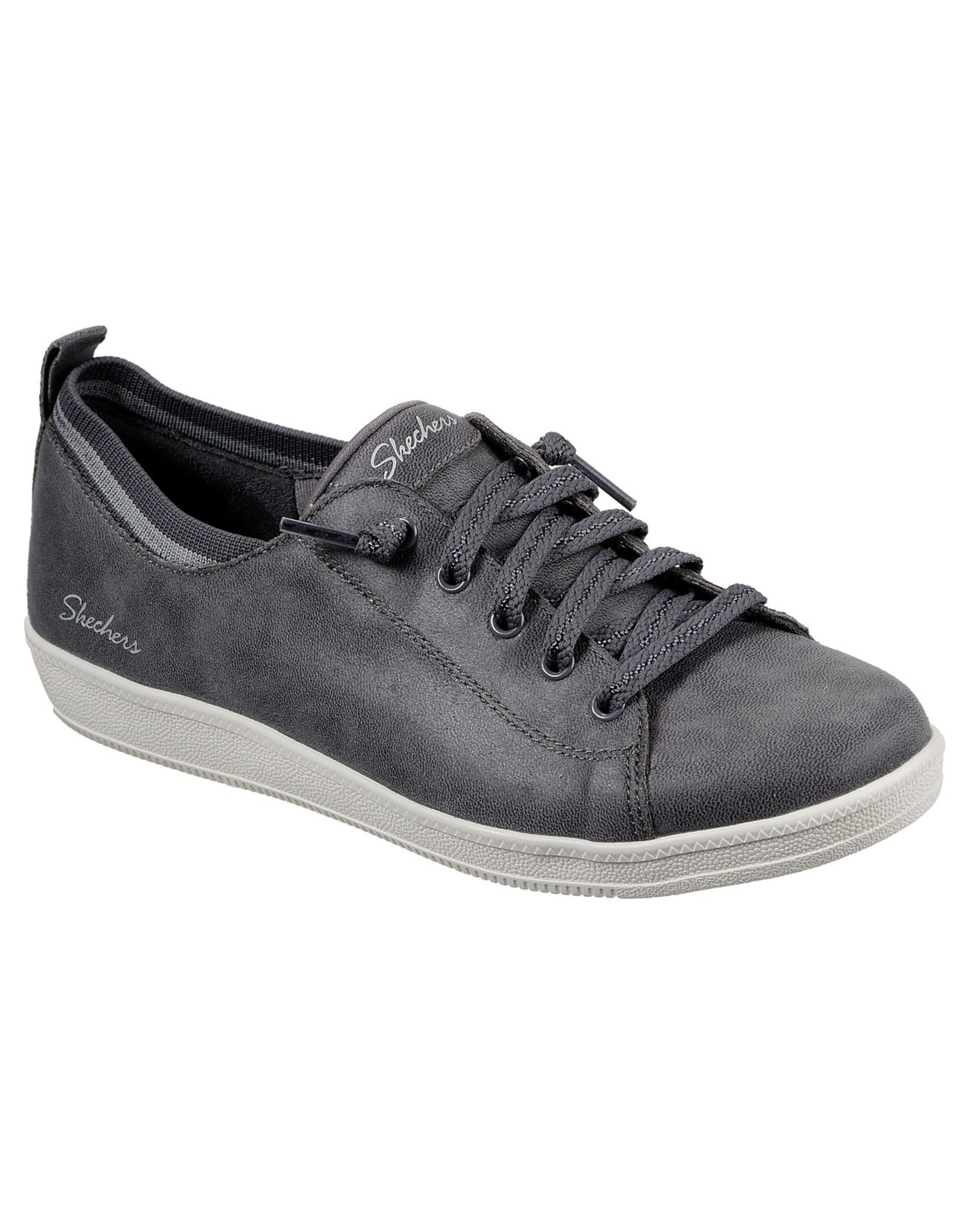 SKECHERS MADISON AVE CITY WAYS WOMEN'S SHOES, CHARCOAL