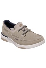 SKECHERS 65896W BELLINGER GARMO MEN'S SHOES, TAUPE