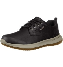 SKECHERS 65693 DELSON ANTIGO MEN'S SHOES, BLACK