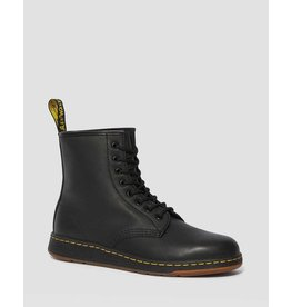 DR. MARTENS DR. MARTENS BLACK NEWTON LEATHER DM'S LITE BOOTS