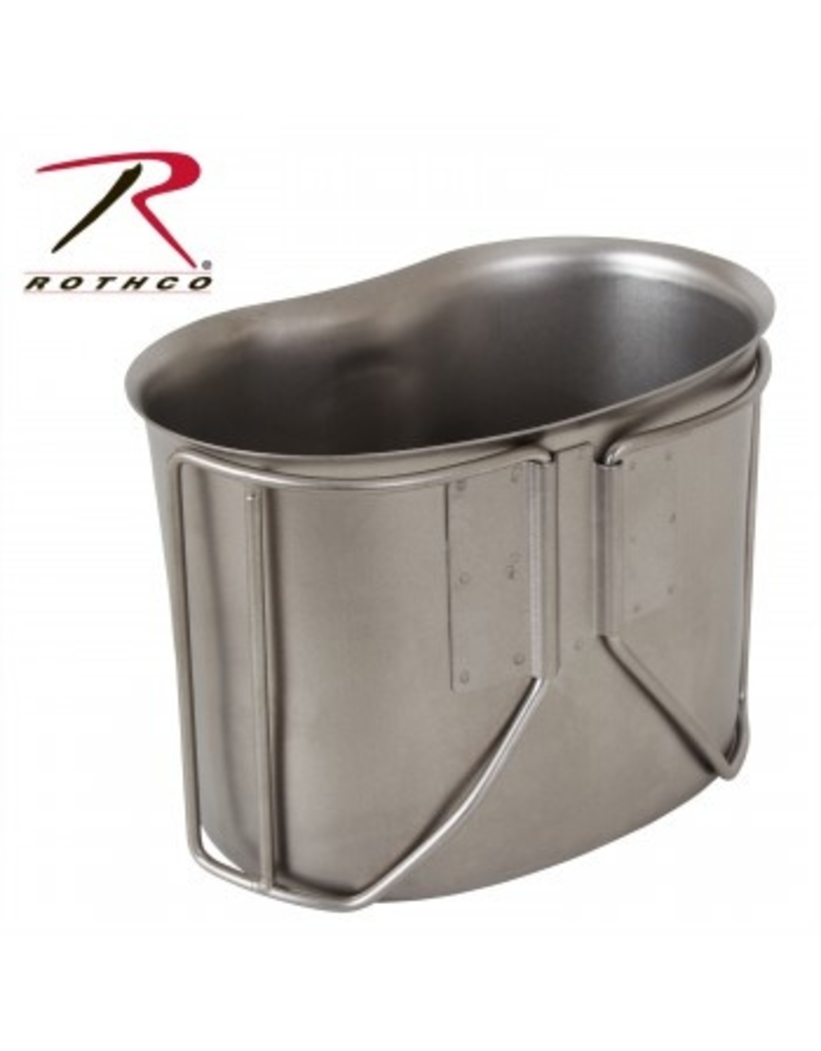 ROTHCO G.I. STYLE STAINLESS STEEL CANTEEN CUP