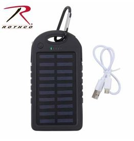 ROTHCO WATERPROOF SOLAR POWER BANK