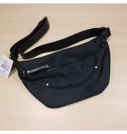 ROOTS ROOTS BLACK WAIST BAG