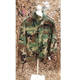 U.S. SURPLUS U.S. M65  JACKET -WOODLAND
