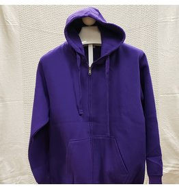MARSHLANDS MILLTEX PLAIN ZIPPER HOODIES