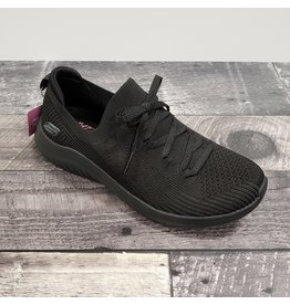 SKECHERS SKECHERS ULTRA FLEX- KNIT BLACK