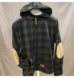 ATTRACTION APPAREL ATTRACTION UNISEX PLAID HOODY