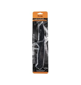 CIRCLE IMPORTS OLYMPIA SERRATED WINDOWBREAKER GRAY FOLDING KNIFE