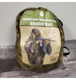 ROTHCO LIGHTWEIGHT Woodland  GHILLE SUIT