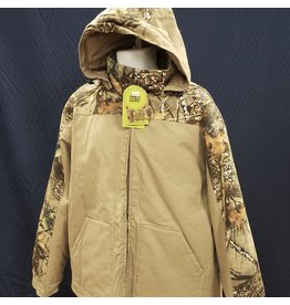 WORLD FAMOUS SPORTS WFS BURLY CAMO CANVAS JACKET