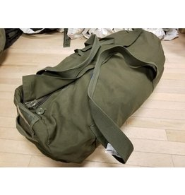 SURPLUS CANADIAN USED CANVAS DUFFLE BAG