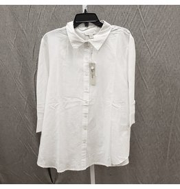 CHARLIE PAIGE CHARLIE PAIGE WHITE COTTON SHIRT