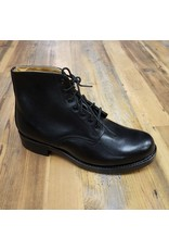 CANADIAN SURPLUS CANADIAN BLACK LEATHER ANKLE BOOT NEW 8.5