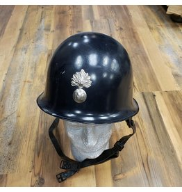 U.S. SURPLUS FRENCH BLUE POT HELMET AND LINER