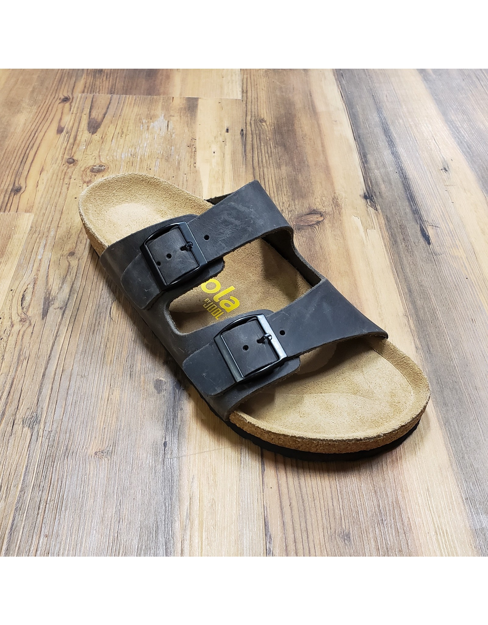 JOOL JOOL DAWSON MEN LEATHER  SANDAL-GREY