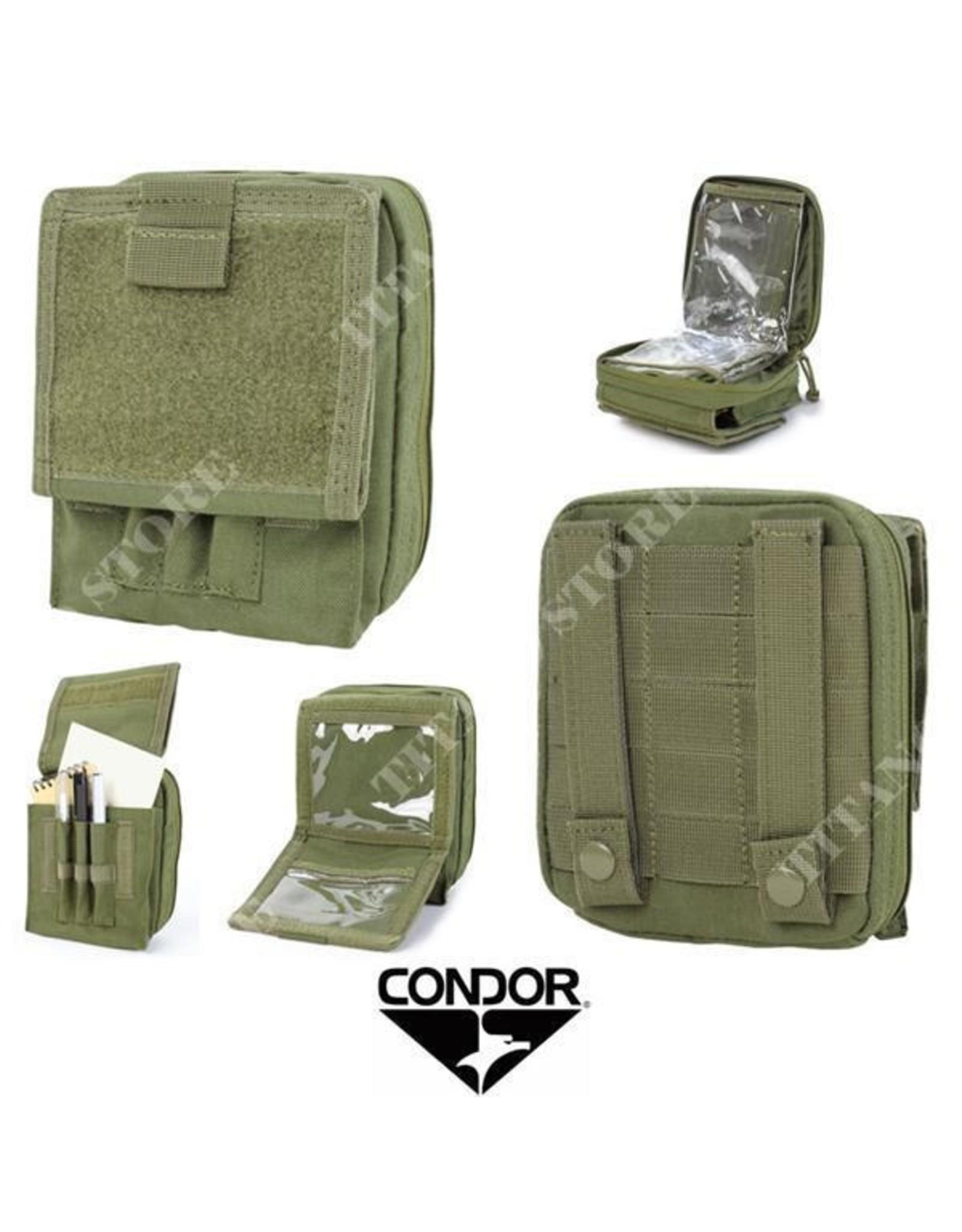 CONDOR TACTICAL MA35 CONDOR- MAP POUCH, OD