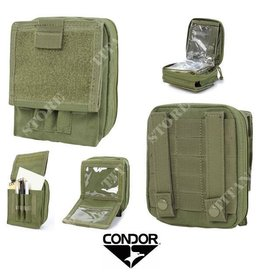 CONDOR TACTICAL MA35 CONDOR- MAP POUCH, OD