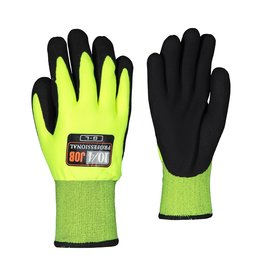GANKA FOAM NITRILE KNIT GLOVES