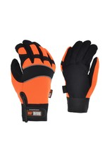 GANKA UNLINED FAKE LEATHER SPANDEX  GLOVE