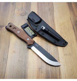 TOPS KNIVES TOPS BROS-01 FIXED BUSHCRAFT BLADE KNIFE