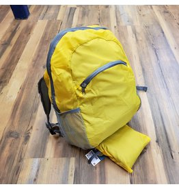 SONA ENTERPRISE SE YELLOW PACKABLE BACKPACK
