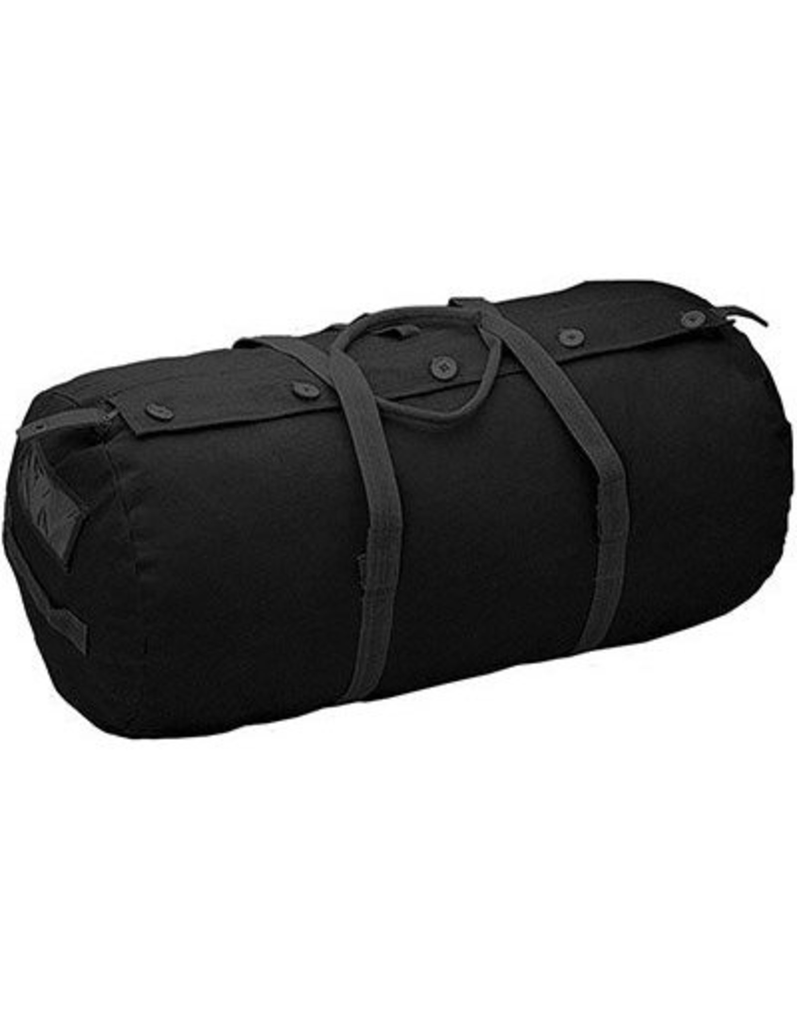 WORLD FAMOUS SALES PARATROOPER CANVAS BAG-BLACK