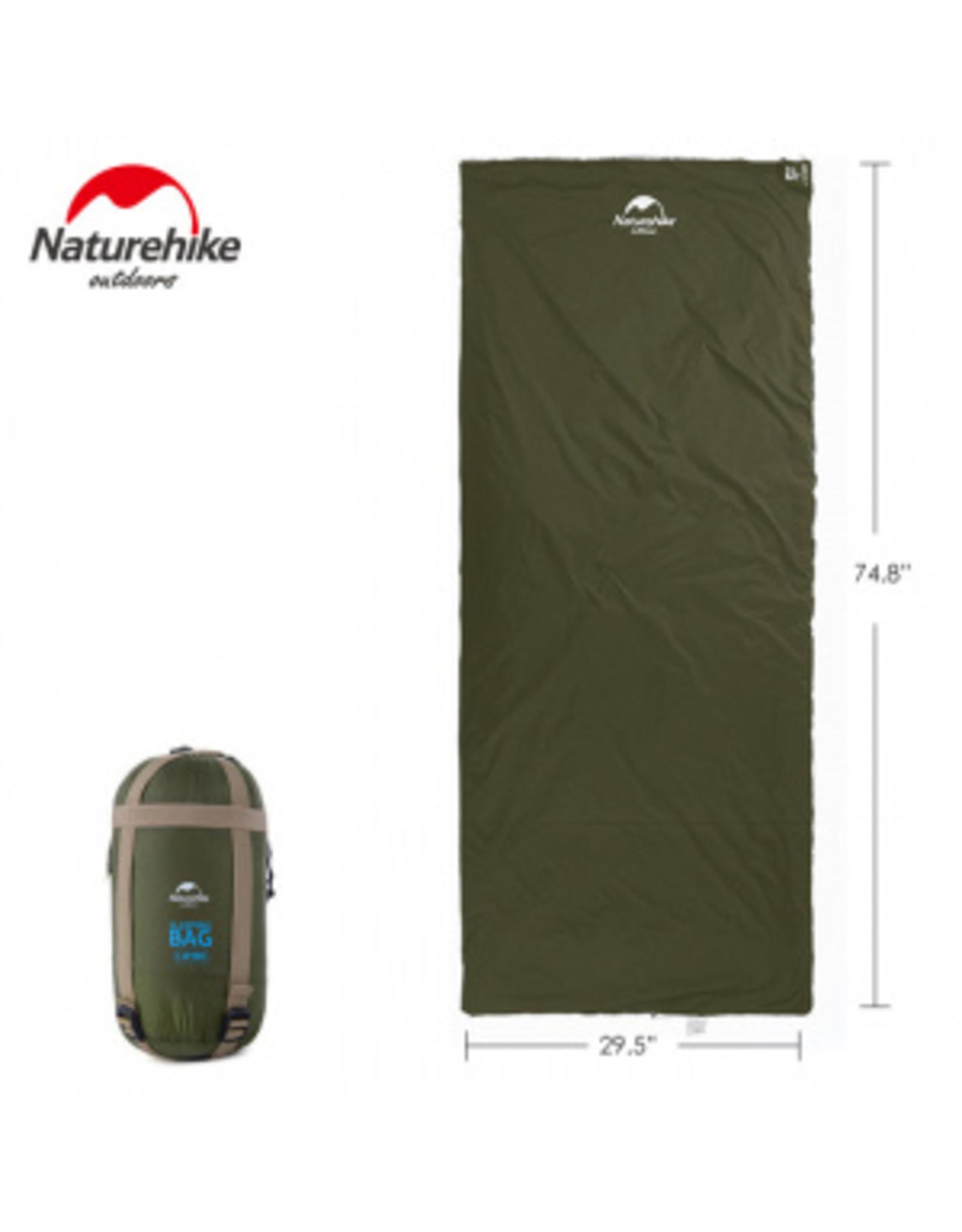 CIRCLE SALES NATURE HIKE COMPACT SLEEP BAG GREEN 15C