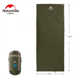 CIRCLE SALES NATURE HIKE COMPACT SLEEP BAG GREEN 15C