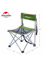 ROTHCO NATURE HIKE LIGHT WEIGHT FOLDING CHAIR GREEN