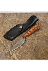 "DAMASCUS 3"" CLEAVER WOOD HANDLE"