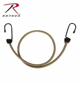 "ROTHCO 4 PACK OF 30"" BUNGEE CORD -COYOTE"