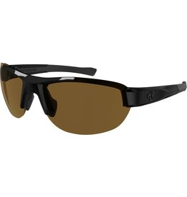 RYDERS CRANKUM POLY BLACK / BROWN LENS
