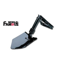 WORLD FAMOUS SALES 2-WAY FOLDING SHOVEL