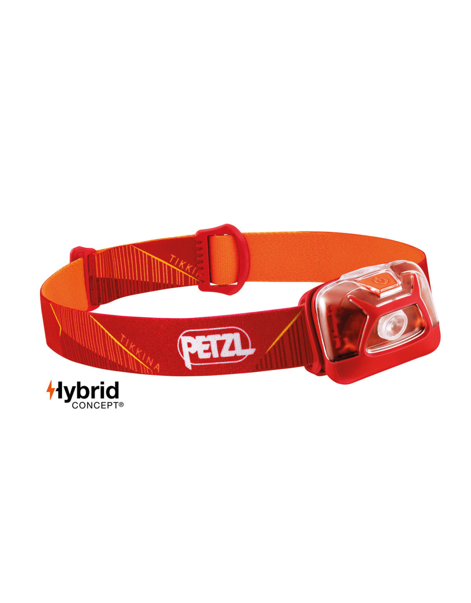 PETZL TIKKINA 250 lumens, standard lighting red -