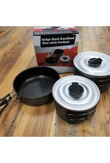CHINOOK TECHNICAL OUTDOOR Chinook - Ridge Hard Anodized Non-stick Medium Cookset - 41405