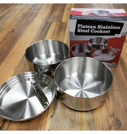 CHINOOK TECHNICAL OUTDOOR PLATEAU COOKSET STAINLESS STEEL