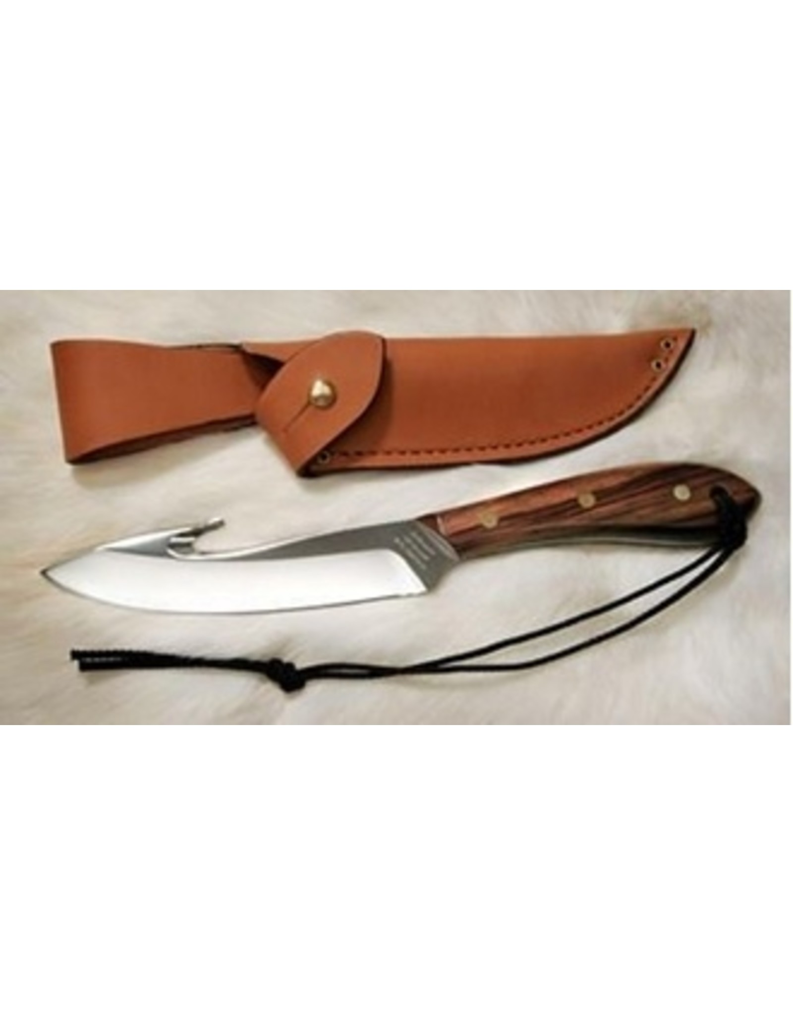 GROHMANN KNIVES SURVIVAL GUTHOOK (ROSEWOOD)