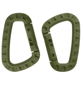 WORLD FAMOUS SALES MIL -SPEX TACTICAL BINER PLASTIC-OLIVE