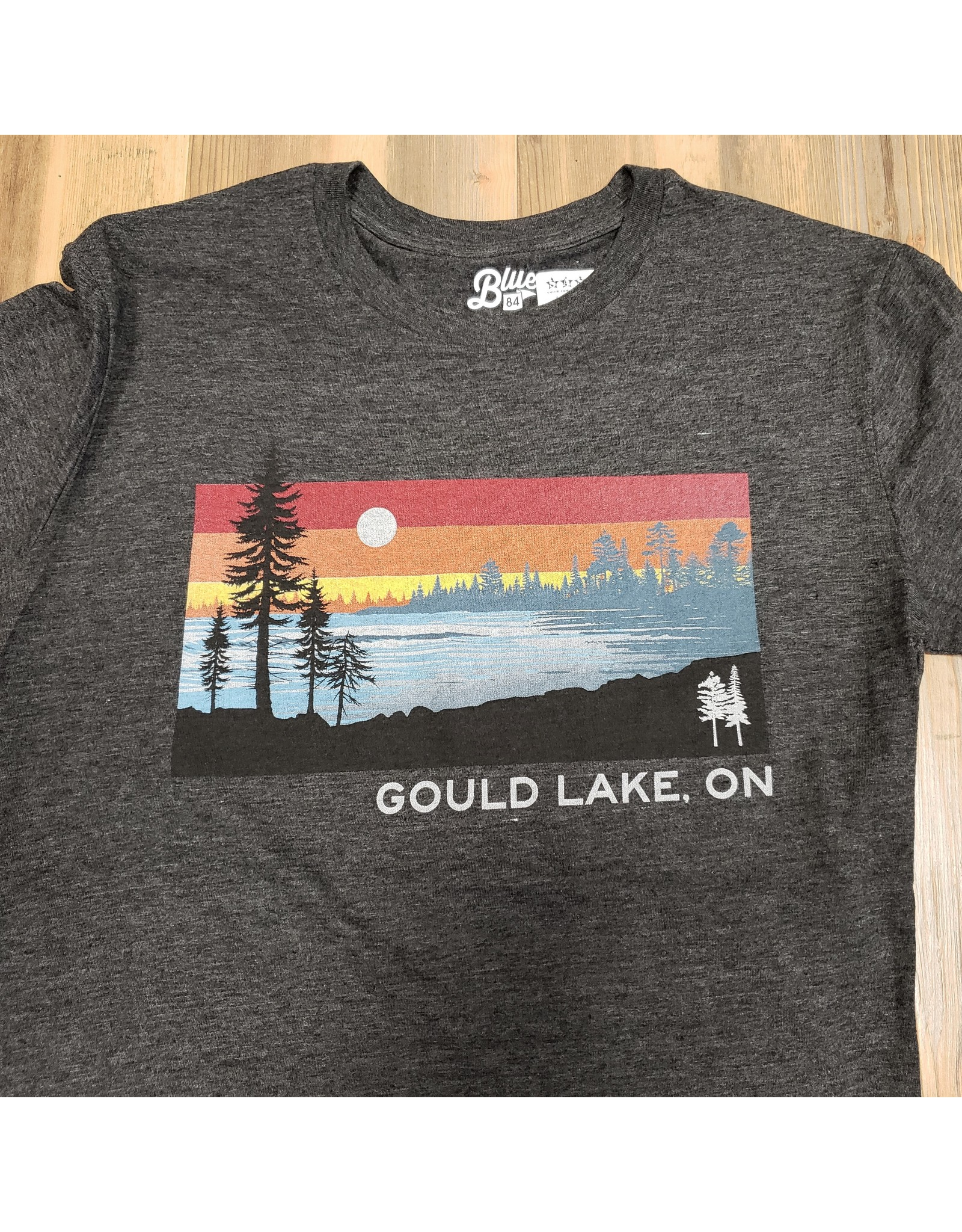 BLUE GOULD LAKE T-SHIRT